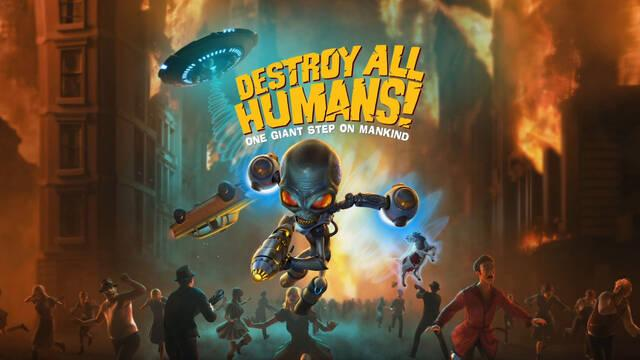Destroy All Humans! muestra Union Town