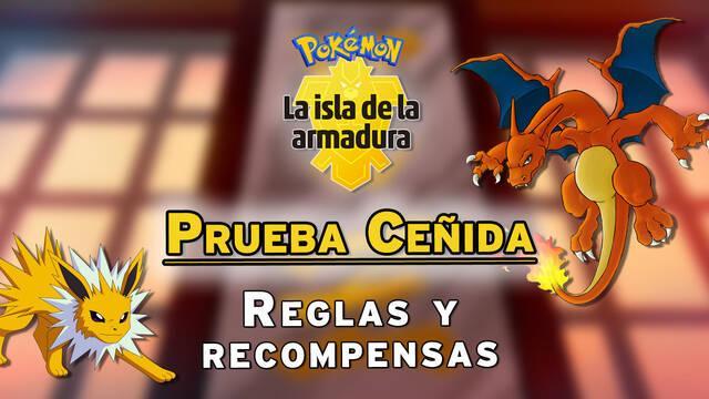 Prueba Ceñida de Pokémon Isla de la Armadura: Recompensas y reglas