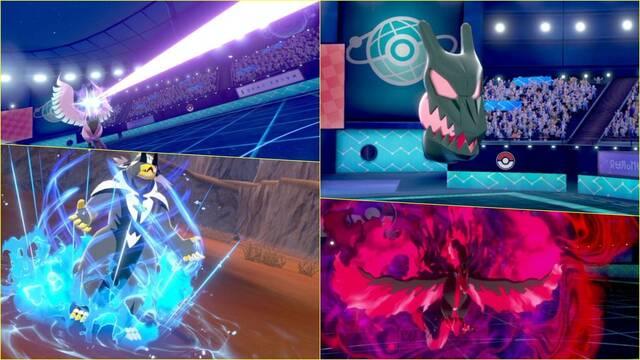 Pokémon Espada y Escudo DLC Legendarios