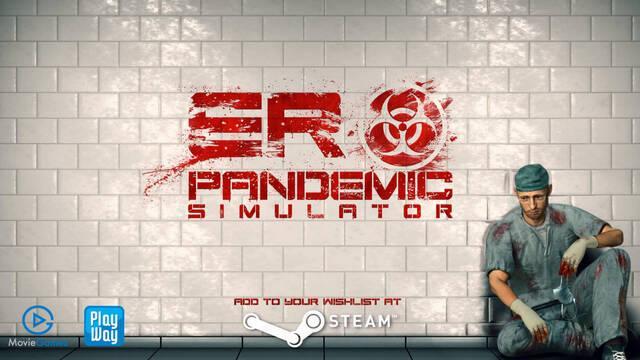 ER Pandemic Simulator simulador de pandemias