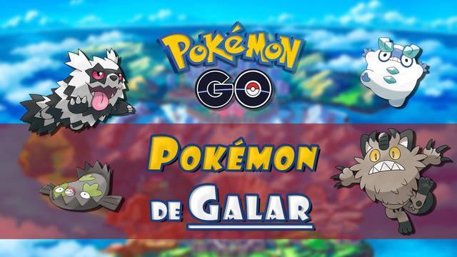 Pokémon Go: TODOS los Pokémon de Galar (8ª Gen) y cómo conseguirlos