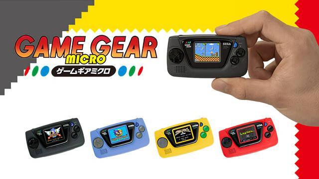 SEGA planeaba lanzar Game Gear Micro con un solo videojuego por modelo antes de incluir cuatro en cada uno.