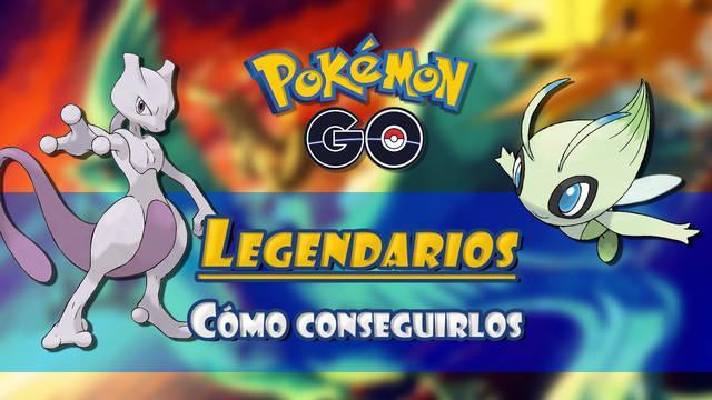 Pokémon Go: Todos los Pokémon Legendarios y cómo capturarlos