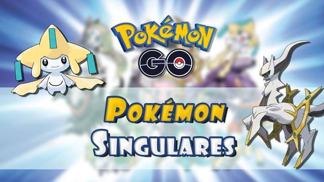 Pokémon Go: TODOS los Pokémon Singulares y cómo conseguirlos