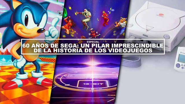 60 años de SEGA: Un pilar imprescindible de la historia de los videojuegos