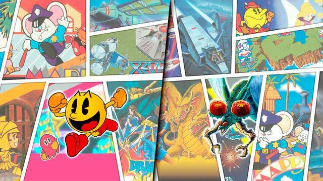 Namco Museum Archives Vol. 1 y 2 confirman su lanzamiento para el 18 de junio