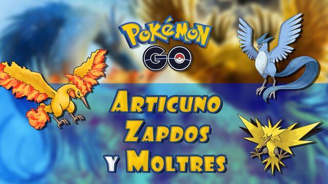 Pokémon Go: Pájaros legendarios y cómo capturarlos - Métodos y fechas