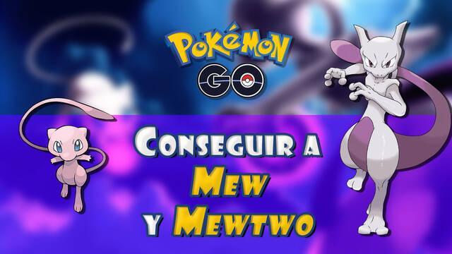 Cómo capturar a Mew y Mewtwo en Pokémon Go: Todos los métodos y fechas
