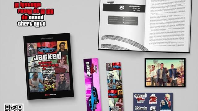 Gamepress editará el libro Jacked: La historia fuera de la ley de Grand Theft Auto en julio.