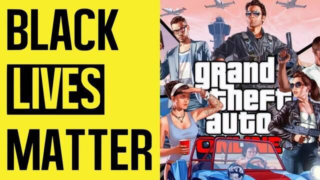 Rockstar cierra los servidores de GTA Online y Red Dead Online en apoyo al Black Lives Matter.