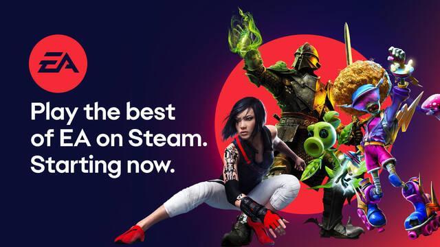 Electronic Arts amplía su catálogo en Steam y anuncia la llegada de EA Access a la plataforma de Valve.