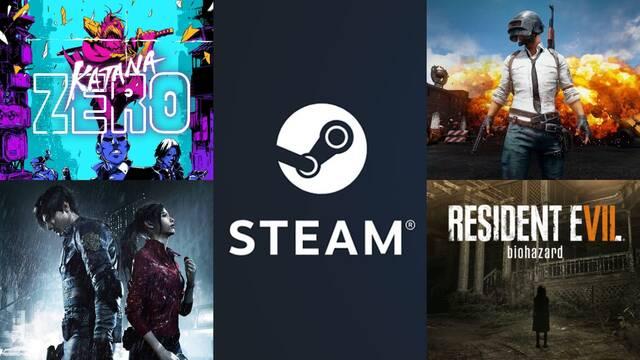Ofertas semanales en Steam.
