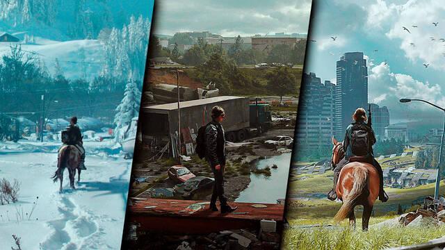 The Last of Us Parte 2 los entornos