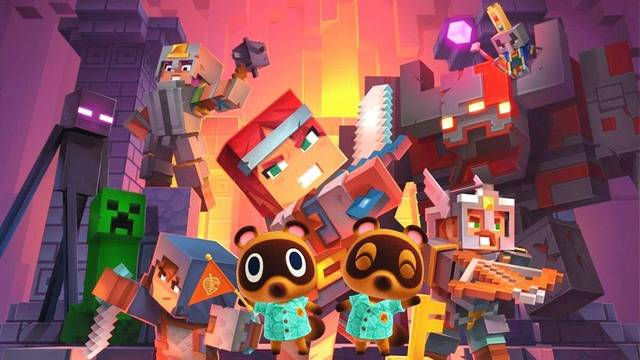 Minecraft Dungeons supera a Animal Crossing