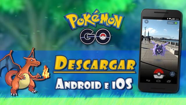 Cómo descargar gratis Pokémon Go en móviles Android e iOS