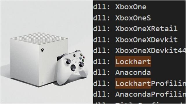 Lockhart (Xbox Series S) aparece reflejada en las bibliotecas de Windows.