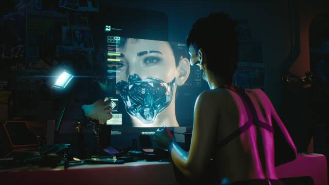 Nuevos detalles jugables de Cyberpunk 2077: su ciberespacio tendrá elementos fantásticos.