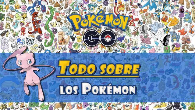 Pokémon Go: TODO sobre los Pokémon disponibles (explicación para principiantes)