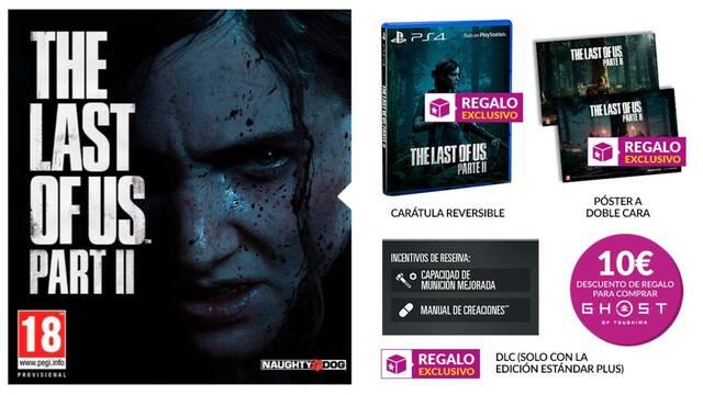 Estos son los incentivos por reservar The Last of Us 2 en GAME.