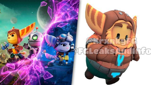 Ratchet & Clank: Sus skins llegarán a Sackboy: Una aventura a lo grande y Fall Guys