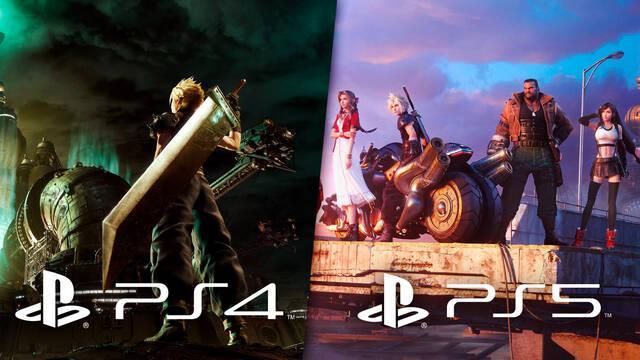 Final Fantasy VII Remake: Comparan los gráficos de Intergrade en PS5 con la versión de PS4