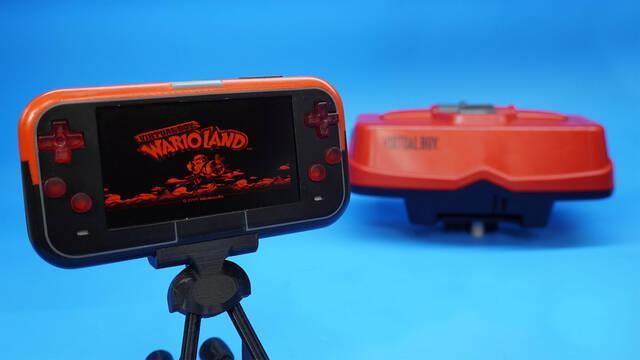 Fan de Nintendo crea una Virtual Boy portátil con boitones iluminados