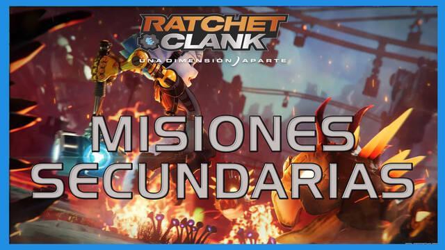 Misiones secundarias en Ratchet & Clank: Una dimensión aparte