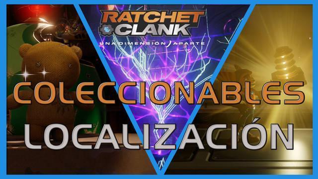 Coleccionables en Ratchet & Clank: Una dimensión aparte