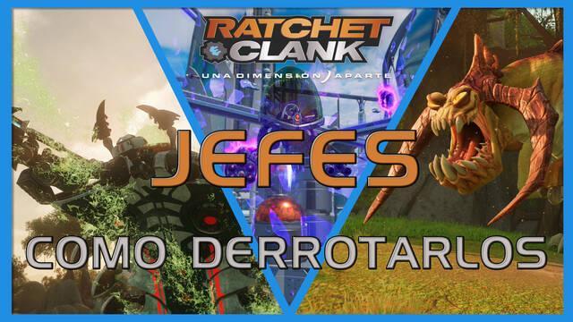 Jefes en Ratchet & Clank: Una dimensión aparte