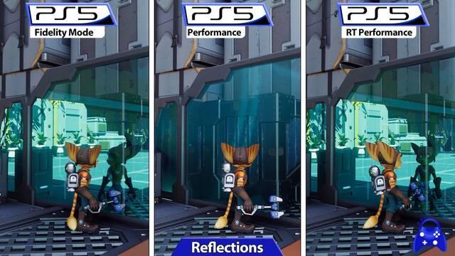 Ratchet & Clank Una Dimensión Aparte recibe una comparativa de sus tres modos gráficos