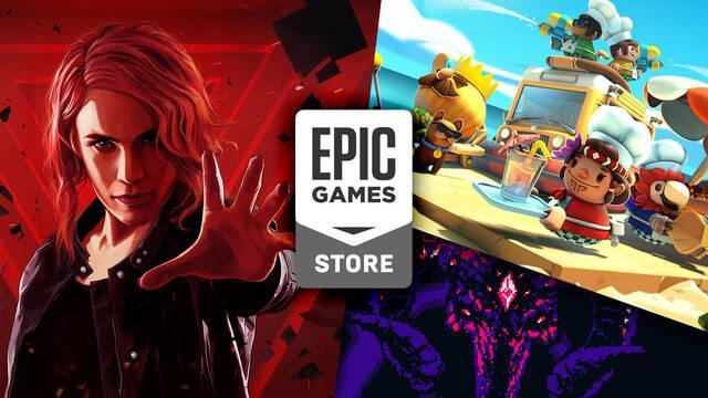 Control disponible gratis en Epic Games Store; Overcooked 2 la semana que viene.