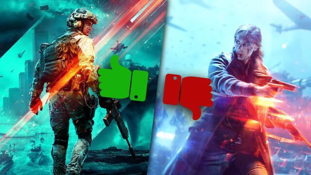 Battlefield 2042 sí convence a los fans con su tráiler, al contrario que Battlefield V.