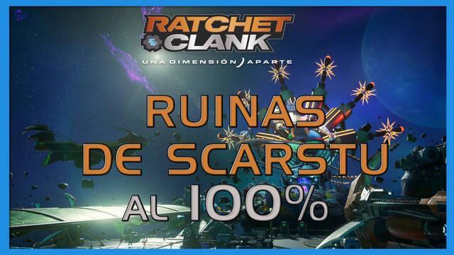 Ruinas de Scarstu en Ratchet & Clank: Una dimensión aparte al 100%