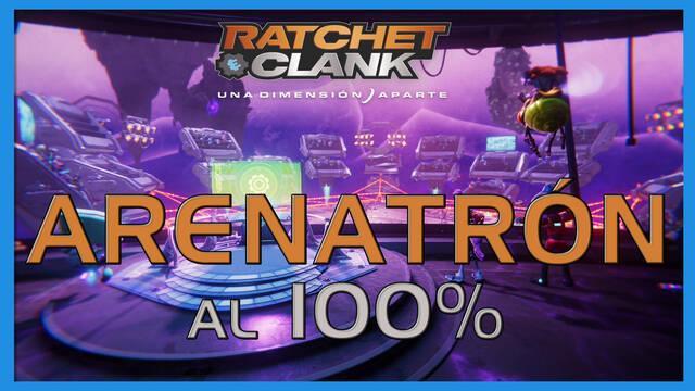 Arenatrón en Ratchet & Clank: Una dimensión aparte al 100%