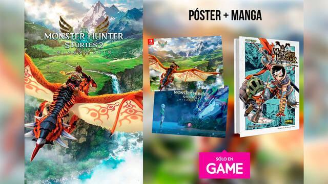 GAME España presenta el incentivo de reserva de Monster Hunter Stories 2: Wings of Ruin