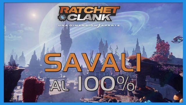 Savali en Ratchet & Clank: Una dimensión aparte al 100%