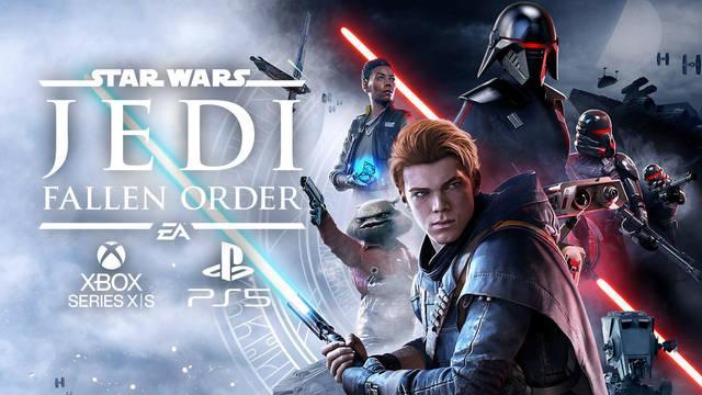 Star Wars Jedi: Fallen Order llega a PS5 y Xbox Series con mejoras y actualización gratuita.
