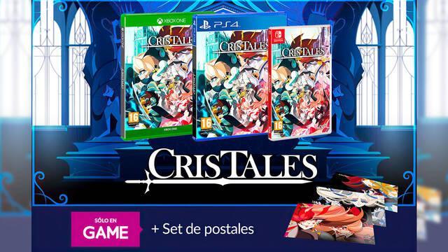 GAME abre las reservas de Cris Tales, con un set exclusivo de postales del juego