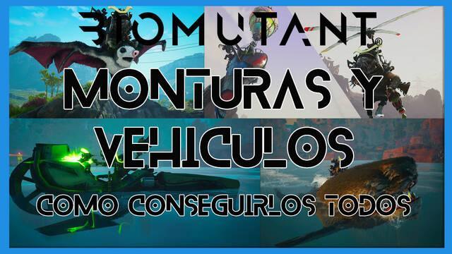 Biomutant: TODAS las monturas y vehículos y cómo conseguirlos
