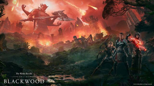 TESO: Blacwood, el primer episodio de Gates of Oblivion, ya está disponible en PC y Stadia.