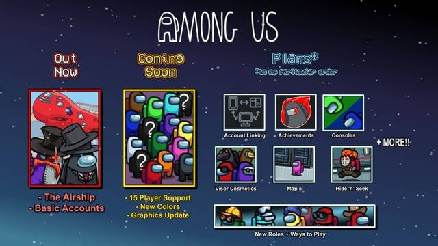 Among Us quinto mapa logros 15 jugadores