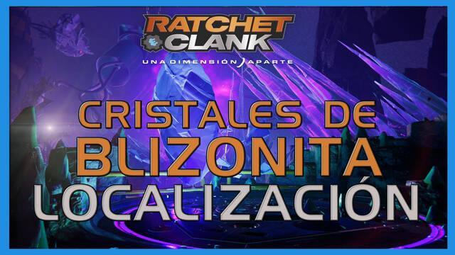 Cristales de blizonita en Ratchet & Clank: Una dimensión aparte - LOCALIZACIÓN