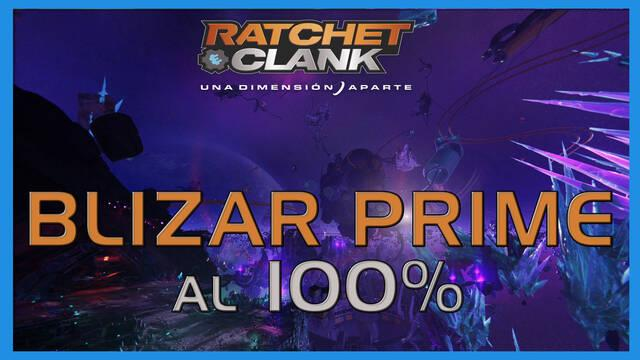 Blizar Prime en Ratchet & Clank: Una dimensión aparte al 100%