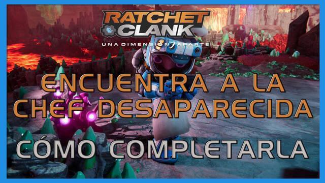 Encuentra a la chef desaparecida en Ratchet & Clank: Una dimensión aparte al 100%