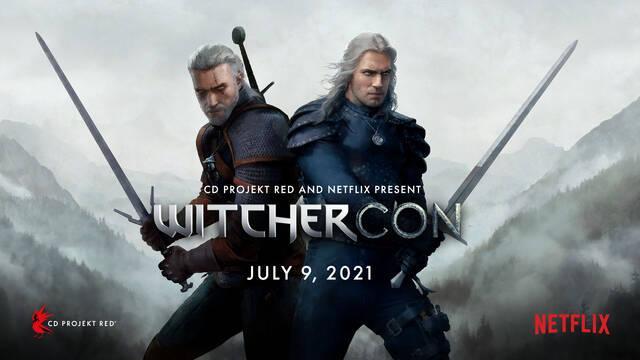 CD Projekt y Netlflix anuncian WitcherCon, un evento de The Witcher para el 9 y 10 de julio.