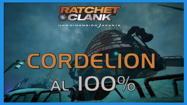 Cordelion en Ratchet & Clank: Una dimensión aparte al 100%