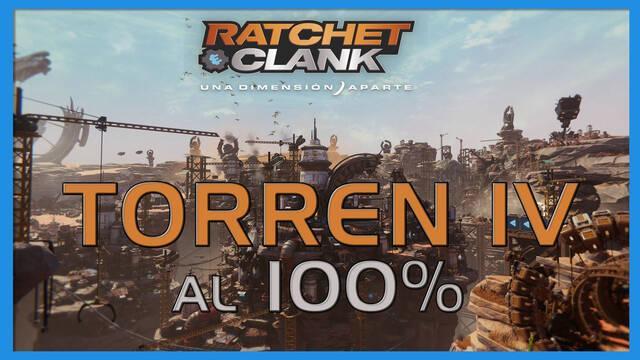Torren IV en Ratchet & Clank: Una dimensión aparte al 100%