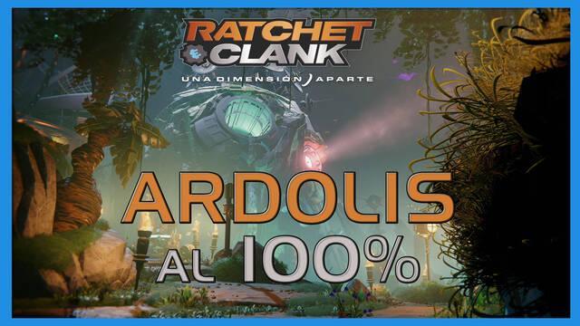 Ardolis en Ratchet & Clank: Una dimensión aparte al 100%