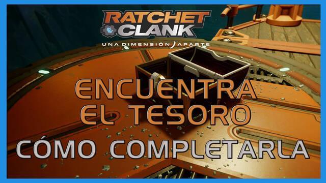 Encuentra el tesoro en Ratchet & Clank: Una dimensión aparte al 100%