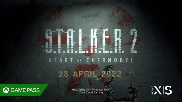 STALKER 2 se lanza el 28 de abril en Xbox Series y PC, también en Xbox Game Pass